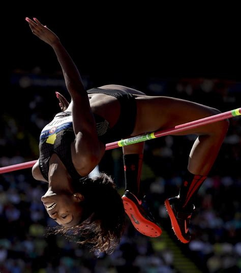 Photos: Olympic track and field trials open at Hayward