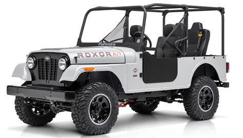 Mahindra Unveils ROXOR A/T with Automatic Transmission
