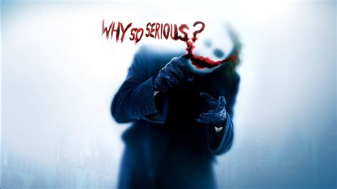 Why So Serious Wallpapers | HD Wallpapers | ID #10140