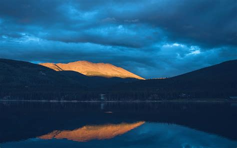 Sunset Mountain Lake Wallpapers | HD Wallpapers | ID #20022