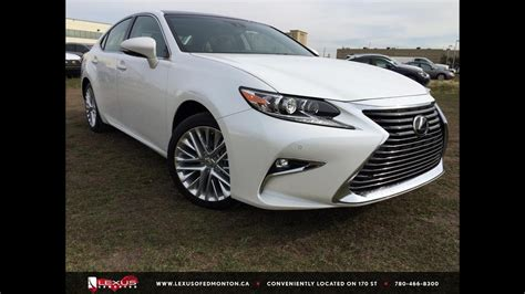 2016 Lexus ES 350 Executive Package Review - YouTube