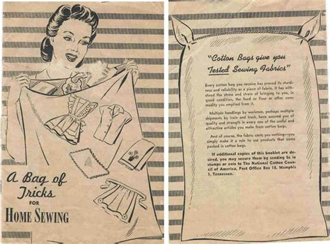 Kitten Vintage: A brief history of Feedsack fabric