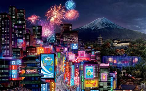 Tokyo City in Cars 2 Wallpapers | HD Wallpapers | ID #9714