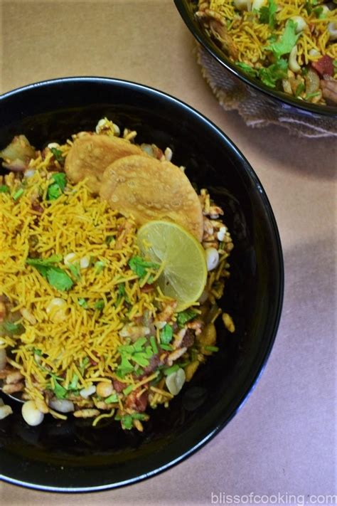 Bhel Puri - Bliss of Cooking