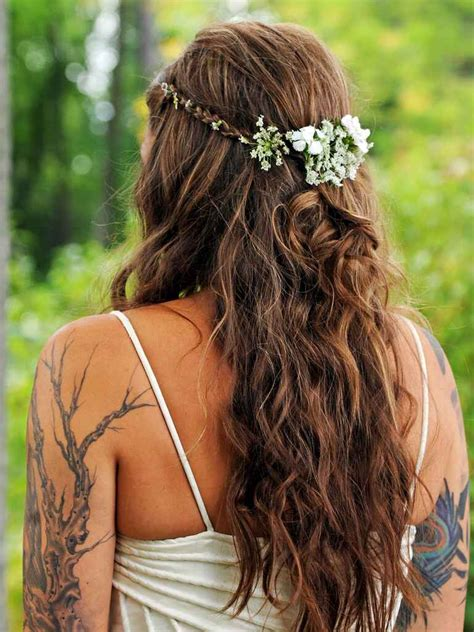 15 Half-Up Wedding Hairstyles for Long Hair With Braids