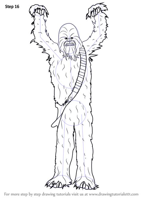 Learn How to Draw Chewbacca from Star Wars (Star Wars