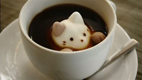 Keep A Kitty In Your Coffee With These Marshmallows