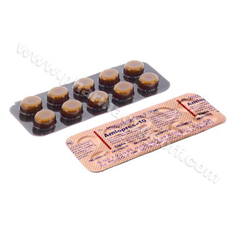 Amlopres (Amlodipine Besilate) - 10mg (10 Tablets