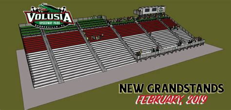 Volusia Speedway Park Begins Construction of New Main