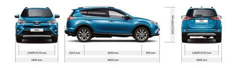 Toyota RAV4 and Hybrid sizes and dimensions guide | carwow