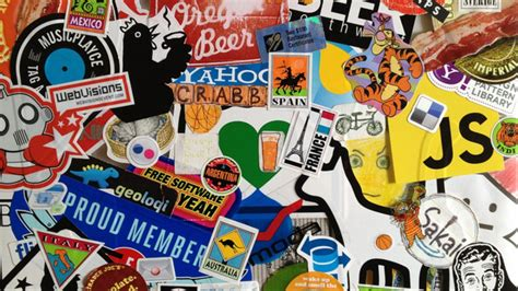 Putting Stickers On Your Laptop Is Probably a Bad Security