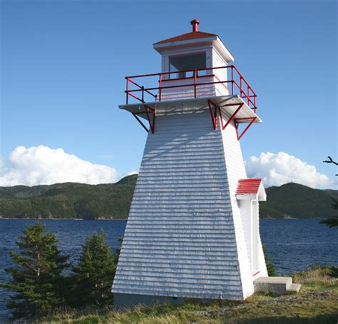 Woody Point Lighthouse, Newfoundland Canada at