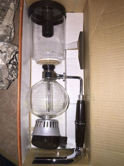 I got a syphon brewer for my birthday! Now I need to