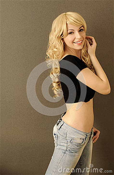 Pretty Girl With Flat Belly Stock Images - Image: 35834044