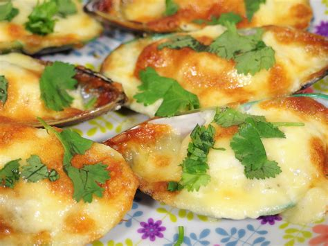 Baked Mussels Recipe - So Creamy and Cheesy! | Spring Tomorrow