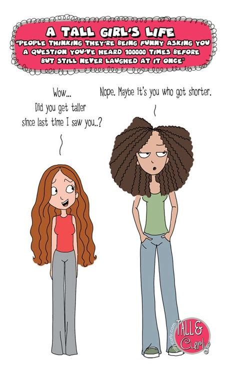 Tall N Curly - Amazing questions #tallgirlsproblems | Tall
