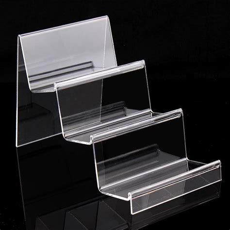Three Tiers Acrylic Thick 3Mm Purse Wallet Bag Iphone Book