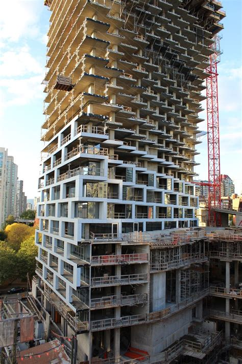 Bjarke Ingels' Vancouver House takes shape in the Beach