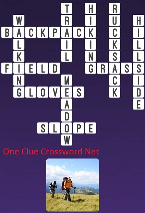 Hiking - Get Answers for One Clue Crossword Now