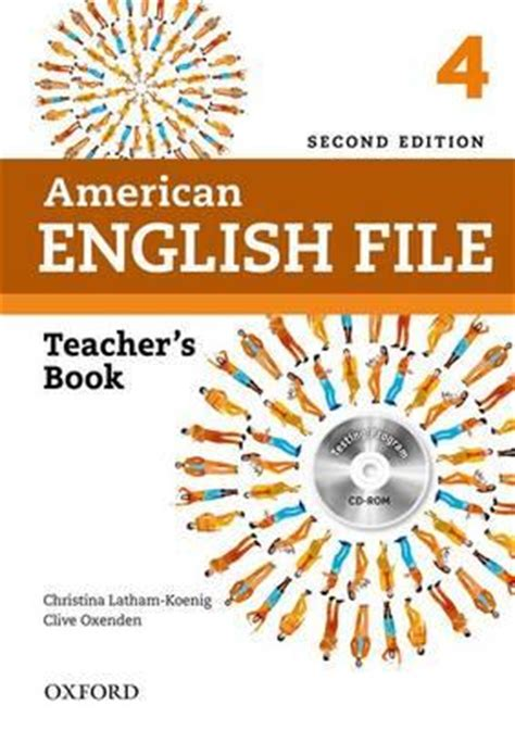 American English File: 4: Teacher's Book with Testing