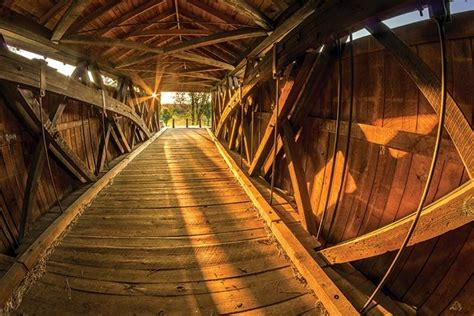 7 Stunning Covered Bridges in the Blue Ridge Mountains