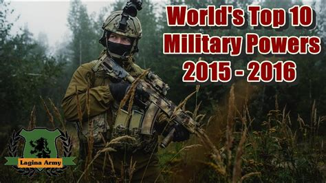 World's Top 10 Military Powers 2015 - 2016 ★ - YouTube