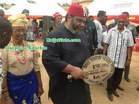 Photos: Pete Edochie's Wife Josephine Edochie Spotted At
