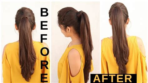 Puff Ponytail Hairstyles For Long Hair - Afro Puff Bubble