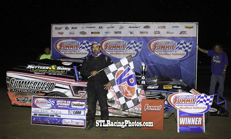 Brian Bielong Scores Summit Modified Nationals Win at