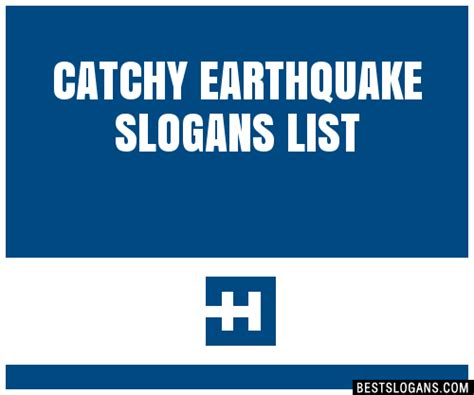 30+ Catchy Earthquake Slogans List, Taglines, Phrases