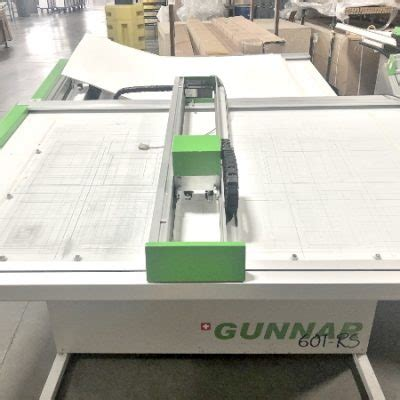 Used Gunnar 601-RS CMC Mat Cutter Lot for Sale