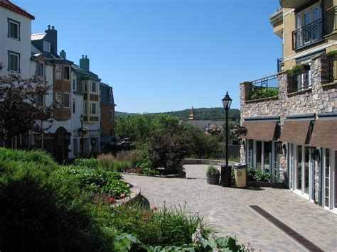 Travels & Themes: Mont-Tremblant - the Famed Ski Resort in
