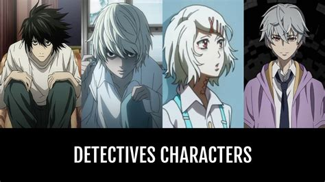 Detectives Characters | Anime-Planet