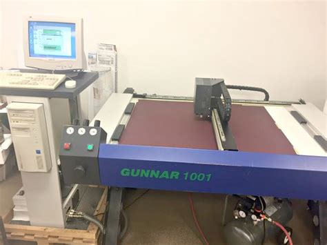 Used Gunnar 1001 CMC Computerized Mat Cutter for Sale