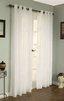 Rhapsody Lined Thermal Voile Sheer Curtains, by