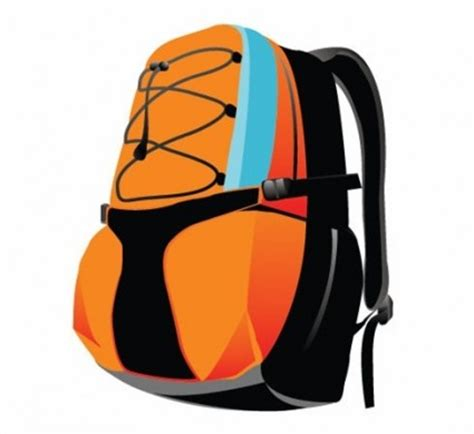 Backpack Sport Bag Vector Graphic - Ai, Svg, Eps Vector