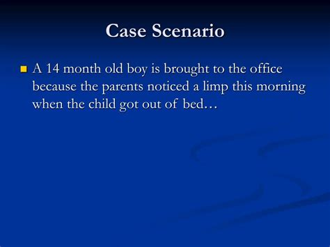 PPT - Approach to limping child PowerPoint Presentation