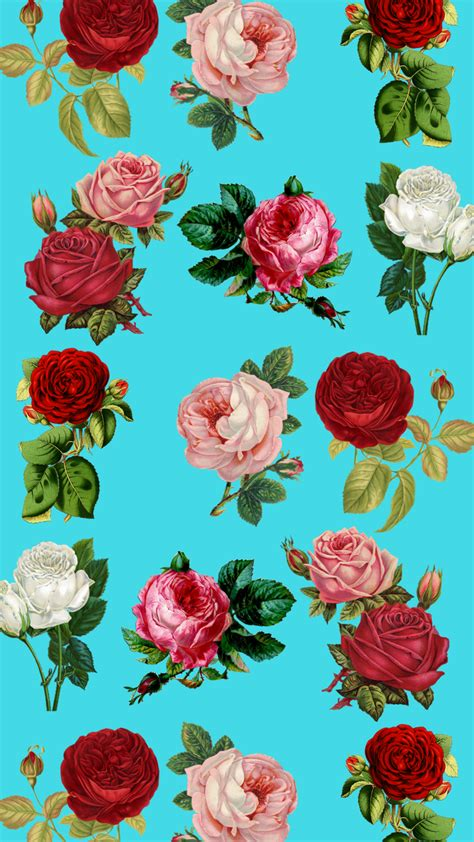 7 Pretty Floral iPhone 8 & 8 Plus HD Wallpapers   Preppy