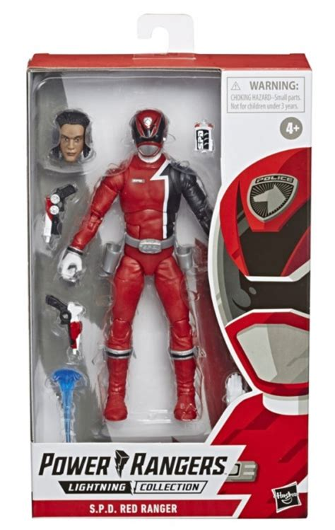 First In Package Look at Lightning Collection SPD Red