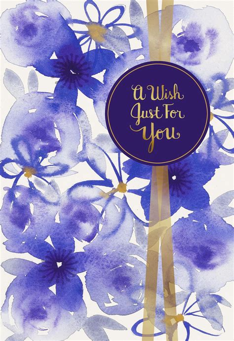 Wishes for a Year Full of Wonderful Birthday Card