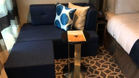 Ovation of the Seas: Spa Junior Suite 6636 - YouTube