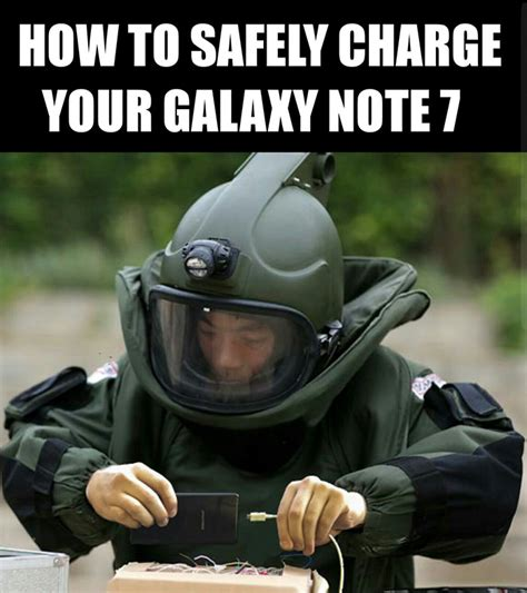 10+ Of The Funniest Reactions To The Exploding Samsung