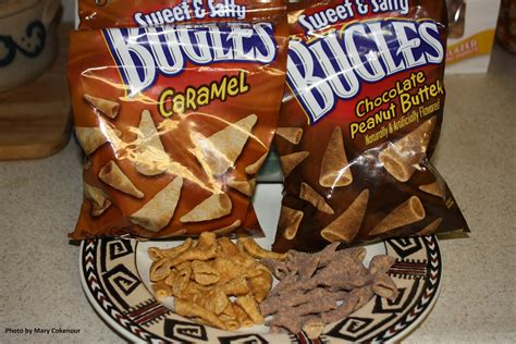Food Adventures of a Comfort Cook: Bugles Adds Sweet to