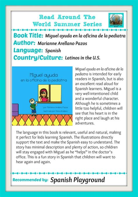 Multicultural Books: Read Around the World - Spanish