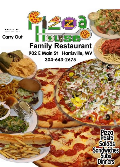 Pizza House Family Restaurant - Posts - Harrisville, West
