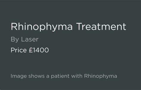 Rhinophyma Treatment by Consultant Surgeon from £1400
