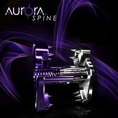 Aurora Spine Announces New Patent for Its Minimally
