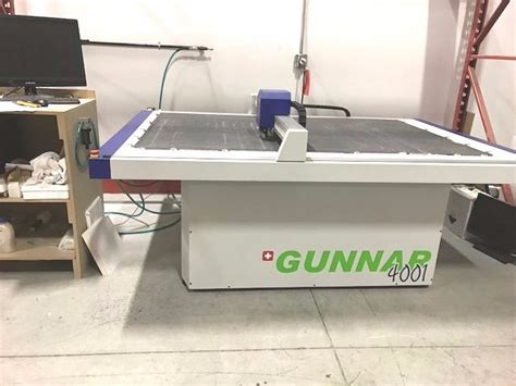 Used Gunnar 4001 XL CMC Computerized Mat Cutter for Sale