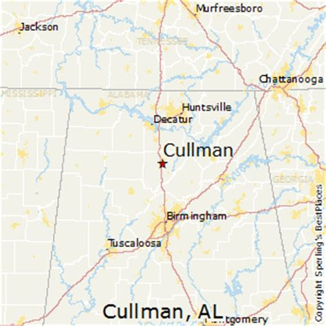 Best Places to Live in Cullman, Alabama