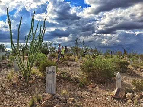 Boothill Cemetery, Tombstone, Arizona - Just outside of